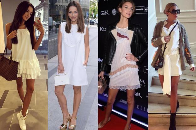 Dodatki Do Bialej Sukienki Jak Ozywic Mala Biala Pudelek