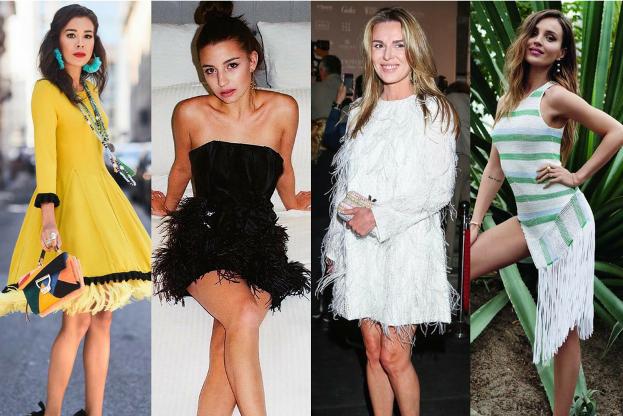 Sukienki z frędzlami na lato 5 propozycji Pudelek
