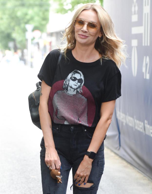 stylizacja szulim buty adidas koszulka kurta cobaina