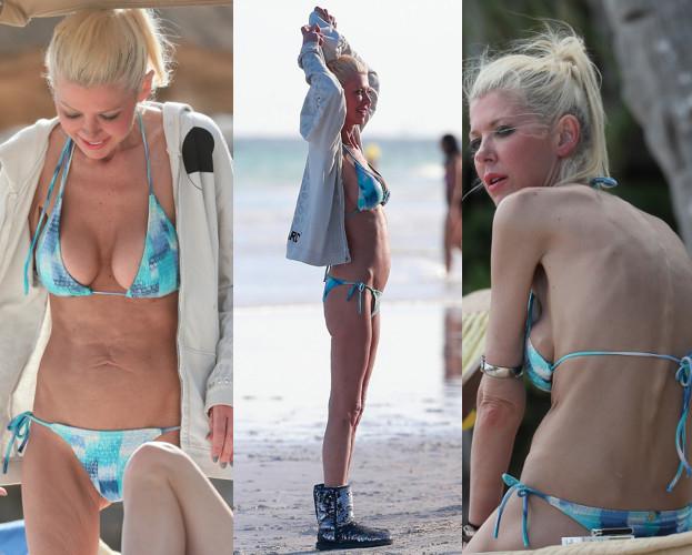 Tara Reid w bikini.